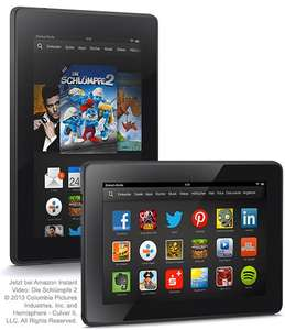 Kindle Fire HD (Version 2013) für 79 € @Amazon.de