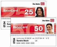 Probe Bahncard 25/50 für 4 Monate