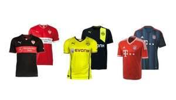 [EBAY] Trikots der Saison 2013/2014 - BAYERN, DORTMUND, SALZBURG, STUTTGART, HSV, BAYER 04 (teilweise nur Kinder)