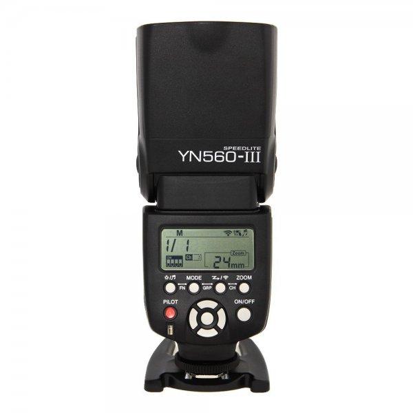 Yongnuo Speedlite 560 III Blitz ohne TTL für 47,14 oder 47,50 mit Netherland Direct