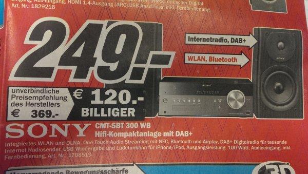 [lokal] ? Siegen;  Sony Hifi-Kompaktanlage Wlan, Bluetooth, NFC
