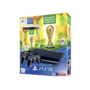 [real,-] PS3 12 GB inkl. FIFA World Cup 2014 + 2 Controller Sony