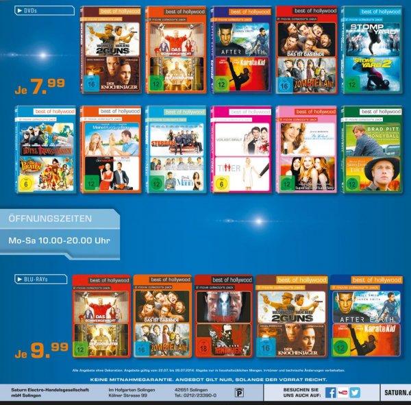 [Saturn Solingen] Verschiedene Bluray & DVD-Packs (2er Sets)