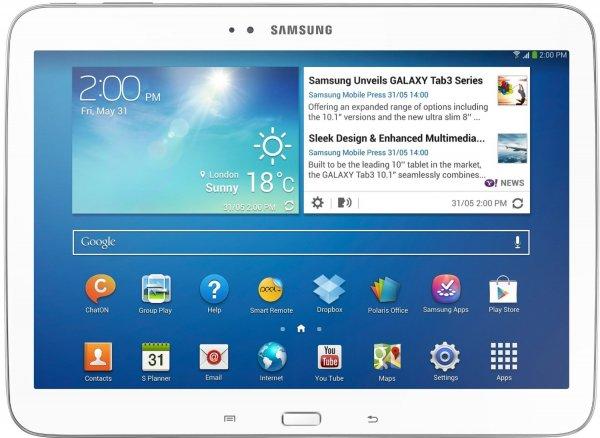 Samsung Galaxy Tab 3 10.1 3G WHD sehr gut @Amazon.it 186€