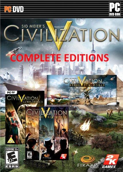 Civilization V: Complete Edition [Steam] 10,04-