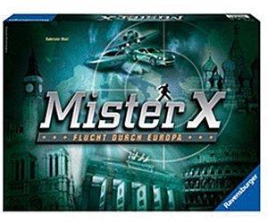 Mister X, Flucht durch Europa für 9,99€  bei thalia
