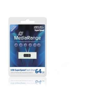 MediaRange SuperSpeed USB Stick 3.0 - 64 GB für 29,48 €