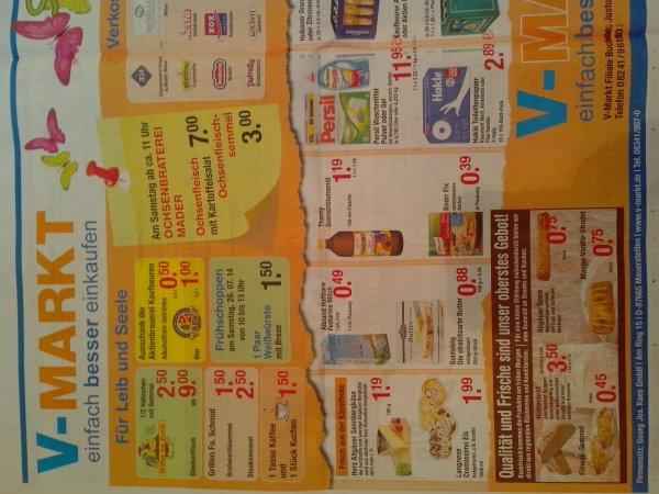 V-Markt Buchloe - Sommerfest mit vielen Angeboten