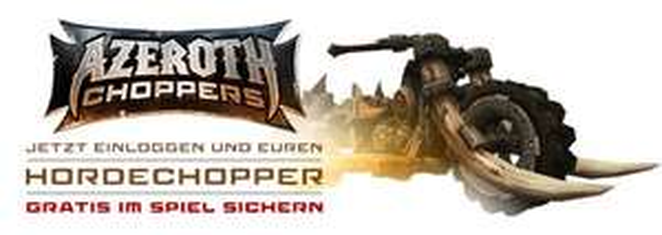 Hordechopper als Gratis-Reittier in World of Warcraft
