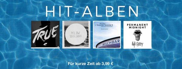 iTunes (iOS/Mac/PC) Sonderaktion HIT-ALBEN für kurze Zeit ab € 3,99 @ itunes.apple.com
