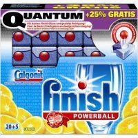 50 finish Quantum Spülmaschinen Tabs (2x20 +25% Gratis) @LOKAL REAL