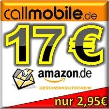 17 Amazon Gutschein für 2.95€