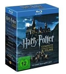 "Harry Potter 1-7 auf Bluray für 34,97 Euro - 11 Disc Blu-Ray Set - @amazon.de - ""AMAZON"""