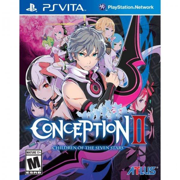 Conception II: Children of the Seven Stars für PS Vita (Retail Version kein digital only)