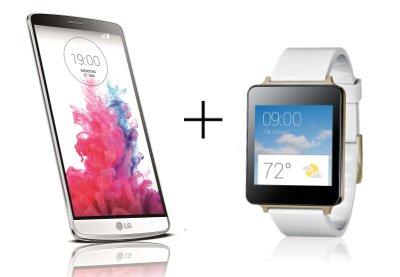 LG G3 32GB Smartphone + LG G Watch für 573,09€ oder mit LG G3 16GB für 509,78€ @amazon.de