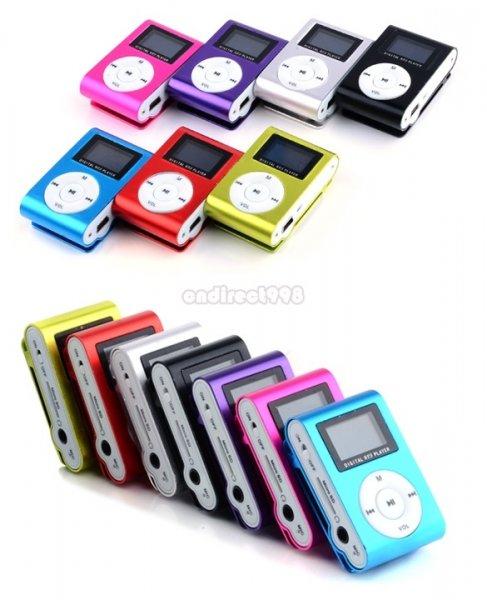 Mini MP3 Player mit Display (incl. Kopfhörer + Ladekabel) für 1€! bei ebay [CN]