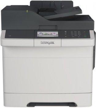 Lexmark CX410de 4-in-1 Farblaser Multifunktion mit LAN, Duplex und 1200dpi