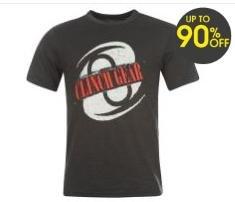 Herren Clinch Gear T Shirt für 2,99 €  bei Sportdirect