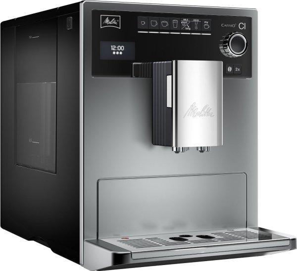 Kaffeevollautomat MELITTA E 970-101 Caffeo CI silber MEDIA MARKT 19% AKTION