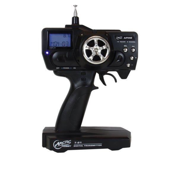 Preisfehler: ARCTIC RC TRANSMITTER T-01 Zweikanal-Fernsteuerung mit Pistolengriff LCD-Bildschirm 9,99€ (statt 35€)