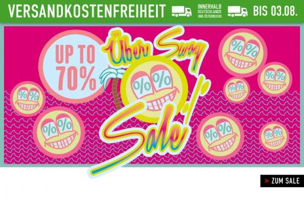Sale bei Titus -  bis zu 70 % + VSK-frei