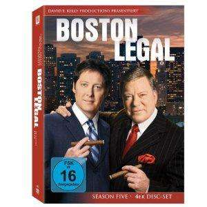 Boston Legal Staffeln 1 - 5 für je 13,97 €