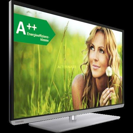 [Zack-Zack.de] Toshiba 48L5441DG 121 cm (48 Zoll) 3D LED-TV, Full HD, 200 Hz, Triple Tuner, Smart TV, Energiereffizienzklasse A++ inkl. Vsk für 569 €
