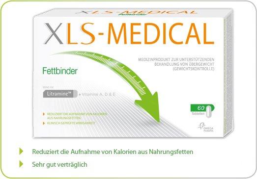 XLS Medical Fettbinder Tabletten oder Direct Sticks Geld zurück Garantie