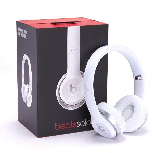 Beats by Dr. Dre Solo2 On-Ear Kopfhörer in Weiß