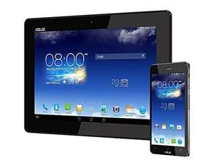 Asus Padfone Bundle A86 LTE 12,7 cm (5 Zoll) Tablet-PC (Qualcomm Snapdragon 800, 2,2GHz, 2GB RAM, 16GB HDD, Adreno 330, Android OS) grau für 559€ @ MeinPaket