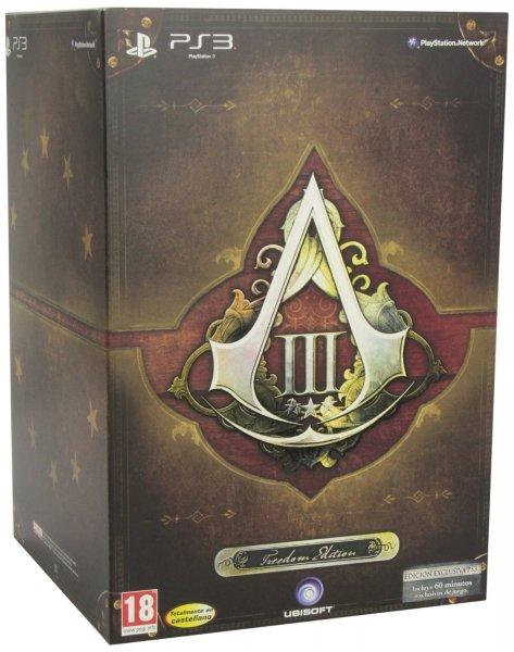 Assassin's Creed 3 Freedom Edition für 64€ @Amazon.es