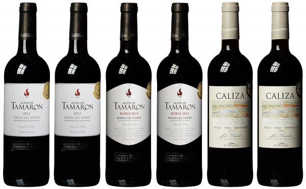 Spanisches Rotweinpaket -30% bei amazon