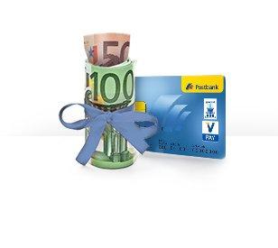 Postbank Girokonto mit 150 Euro Guthaben