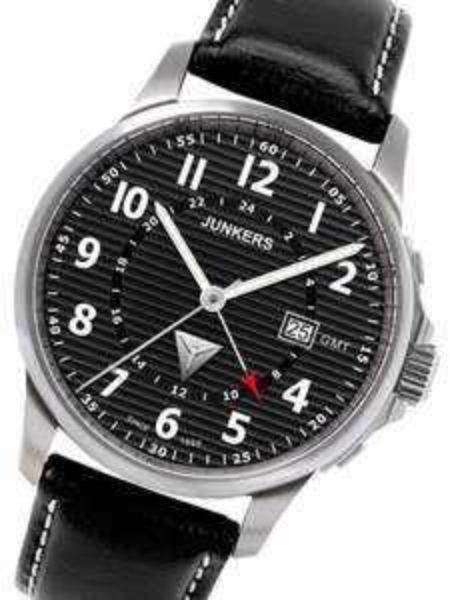 Junkers 6848-2 Dual Time Herrenuhr @uhrcenter.de