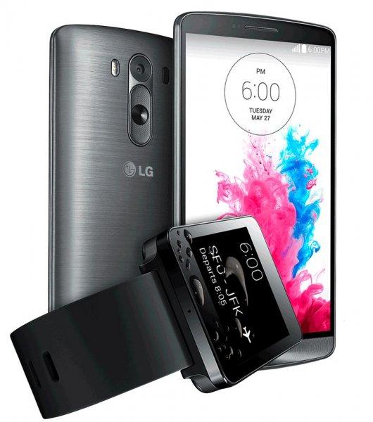 LG G3 16GB & LG G Watch schwarz für 503,95 Euro @smartkauf