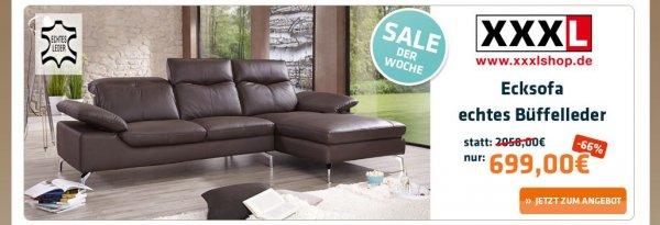 Sofa Echtes Leder für 699€ statt 2058€, Versand 29,95€