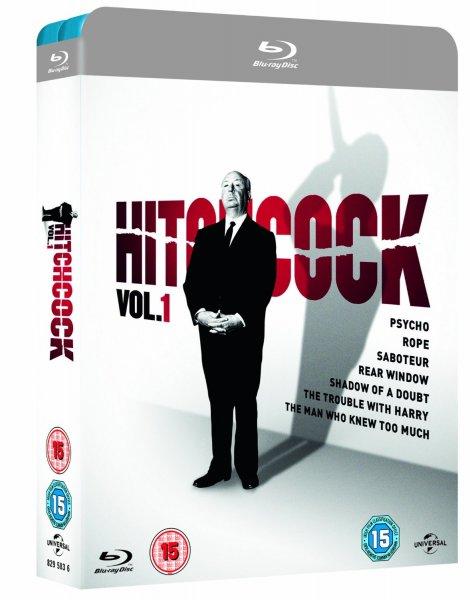 Hitchcock Vol. 1 u. 2 [14 Blu-rays] zusammen für 44,32€ inkl. Versand @ Amazon.uk
