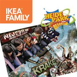 Heidepark 3 für 2 Gutschein @ Ikea (Family Card)