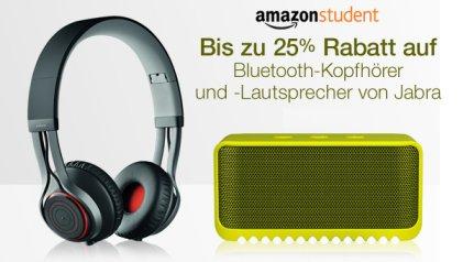 [Amazon Student] Bis zu 25% Rabatt auf viele Jabra-Produkte