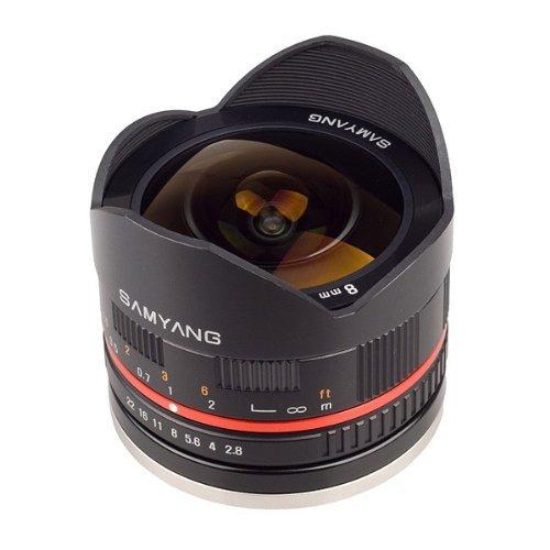 Samyang 8 mm / F 2,8 UMC FISH-EYE X-Objektiv (Fujifilm X)