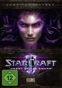 [PC/Mac] Starcraft 2: Heart of the Swarm (Add-On) [14,57€] & Wings of Liberty [16,19€] @Amazon.de PRIME