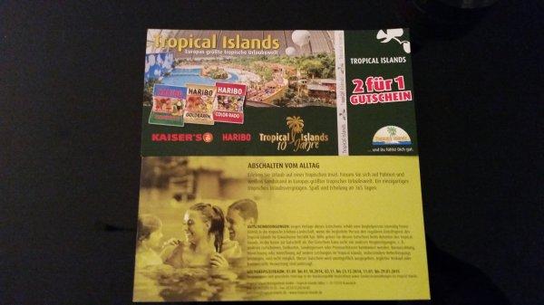 Tropical Islands 2 für 1 ( 36 Euro sparen )