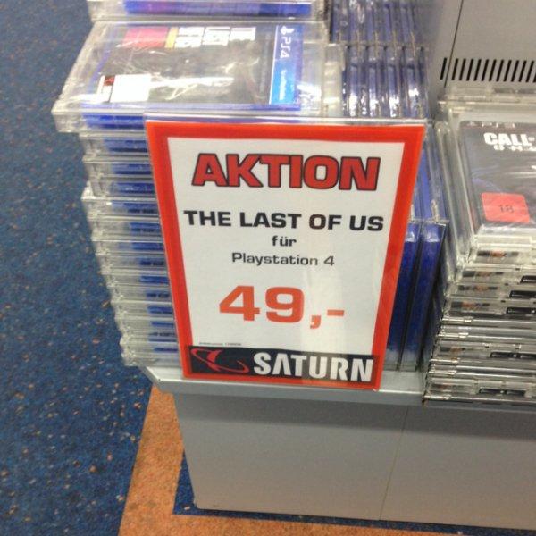 The Last Of Us PS4 Saturn Frankfurt MyZeil