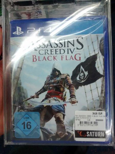 LOKAL- saturn HH mö - PS4 Assassins Creed black flag - 34,99