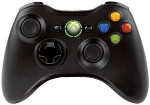 (Amazon) XBox 360 Wireless Controller schwarz für 23,48€