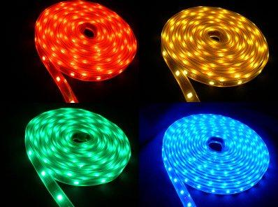 5m einfarbige 300 LED 3528 Stripes für 3,87€ [CN]