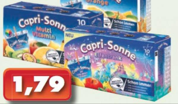 1,79€ Capri Sonne Lidl [Lokal] Velbert?
