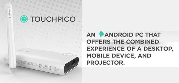 TouchPico: Macht jede Wand zum Touch Screen ab 252,80€ @indiegogo