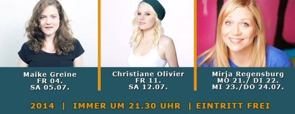 Köln: Im August - viele gratis Comedy Veranstaltungen im WirtzHaus ( Ateliertheater)