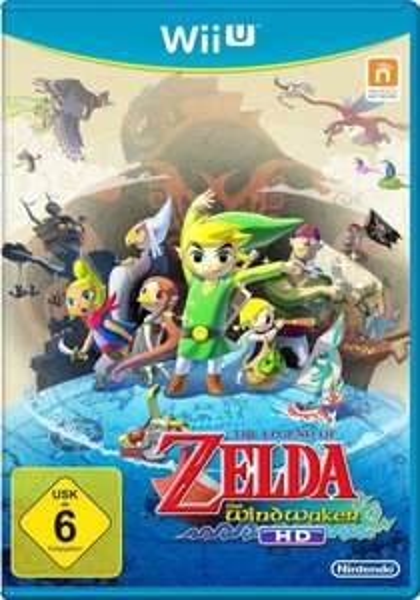 WII U - Zelda Wind Waker HD - 38,87€